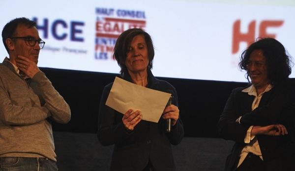 Catherine Corsini reçoit le Prix Alice Guy 2019