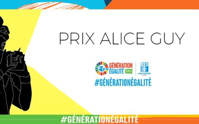 Le Prix Alice Guy a reçu la double labellisation Onu Femmes France et Génération Egalité