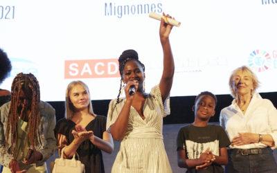 Maïmouna Doucouré reçoit le Prix Alice Guy 2021