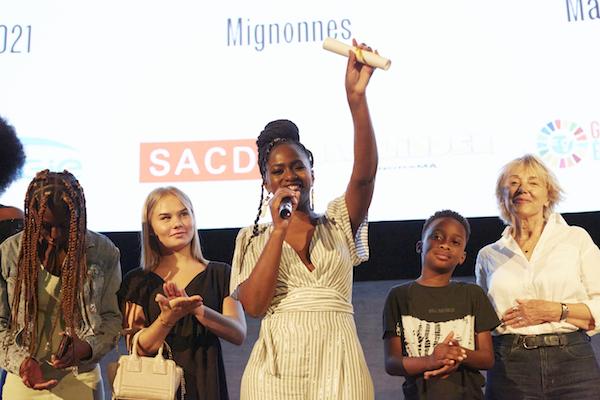 Maïmouna Doucouré Prix Alice Guy 2021 - prixaliceguy.com