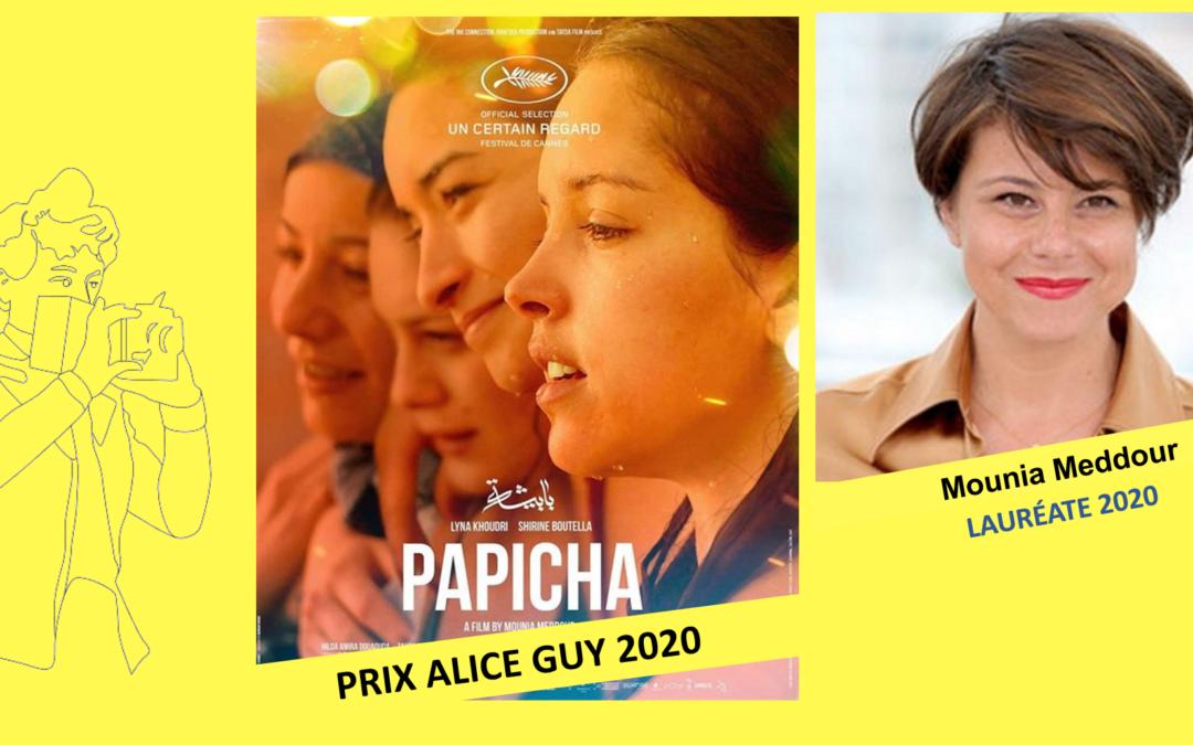 Papicha de Mounia Meddour, Prix Alice Guy 2020